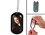 Item # 1783 - Photo Dog Tag Chain