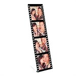 Item #2928 - Photo Film Strip Easel Frame