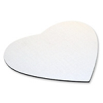 Mouse Pad 3mm - Heart  - Qty 160