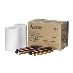 Mitsubishi CK-3812 8x12 Ink & Paper Media Kit CP-3800DW