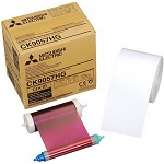 CK-9057 5X7 Ink & Paper Media Kit for For Mitsubishi