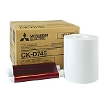 CKD746 Paper & Ribbon Pack Kit for Mitsubishi CPD707DW & CPD70DW