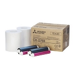 CK-D768  6X8 Ink & Paper  Media Kit for Mitsubishi CPD707DW & CPD70DW