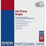 Epson Hot Press Bright Fine Art Smooth Matte Cotton Rag Inkjet Paper