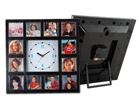 Item # 2115 - Multi-Photo Clock