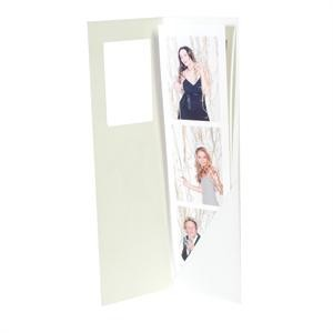 2  x 8   - 3 Photo Strip Mount