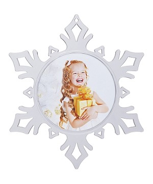 Item # 987 - 2 1/4 Photo Snowflake