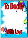 C102 - To Daddy With Love - pack of 10