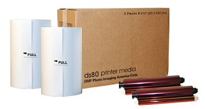 DNP DS80 FotoLusio 8 x12  Print Media Kit DS80PK812 900-915