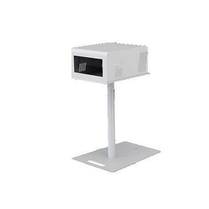 T11 2.0 White Metal Printer Pole, Tray & Cover