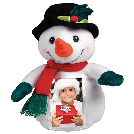 Item # 2064 - Photo Plush Frame - Snowman. Box/12