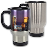Stainless Steel Mug - Coated for Sublimation. Case of 24