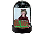 #2712 - 1-3/4 x 2-3/4 Snow Globe - Black vertical
