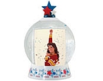 #2722 -  Cheerleader Snow Globe 2  x 2-7/8
