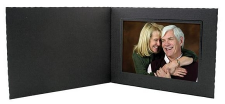 Black Horizontal 6x4 Pro Photo Mount