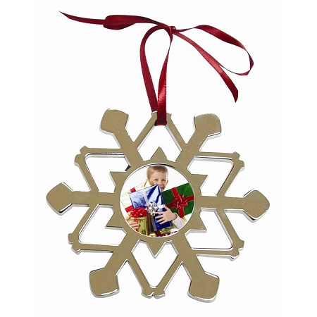 8030X - Metal Snowflake Ornament