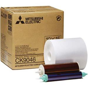 Mitsubishi CK-9046 4x6 Ink & Paper Media Kit