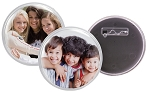 Item # 993 - 3 inch Snapin Button w/ pinback