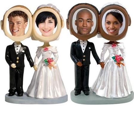 Personalized Photo Bobbleheads- Couples - 1 Dozen