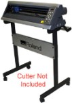 Stand for the Roland GX-24 Desktop Vinyl Cutter