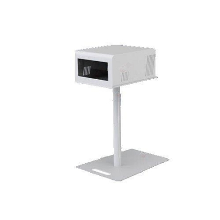 T11 2.x White Metal Printer Stand with Base,Pole, Tray & Cover