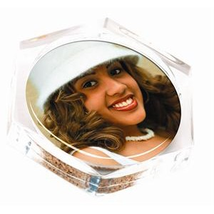 #624C - Acrylic Photo Coaster