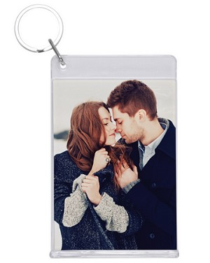 Item # 7962 - Clear Slip-in Key Tag