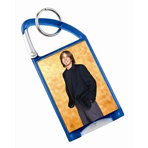 Item # 967 - Photo Flashlight Carabiner Keychain